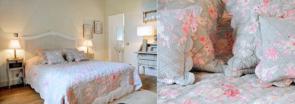 la maison de cl nord chambre rose ancienne. Black Bedroom Furniture Sets. Home Design Ideas